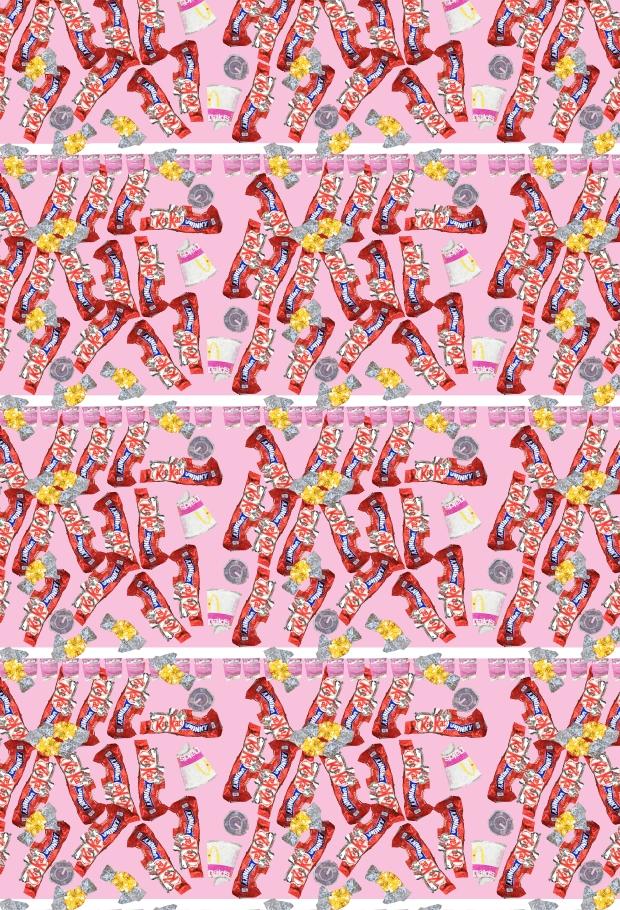 kitkatpatternpaperss